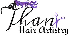 THANX HAIR ARTISTRY Logo